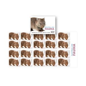 Booklet of 20 x $1.10 Wombat stamps product photo