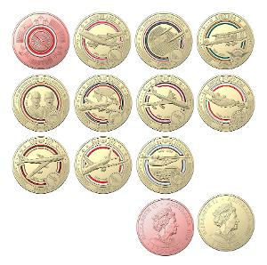 2020 Qantas Centenary 11 coin set product photo