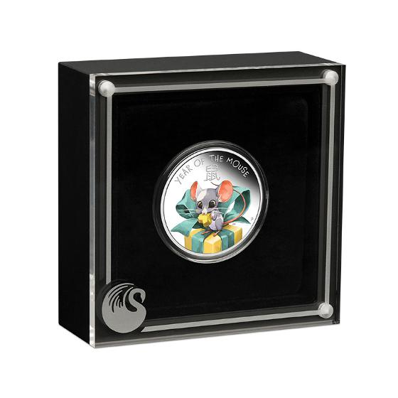 2020 Baby Mouse 1/2oz silver proof coin product photo Internal 2 DETAILS