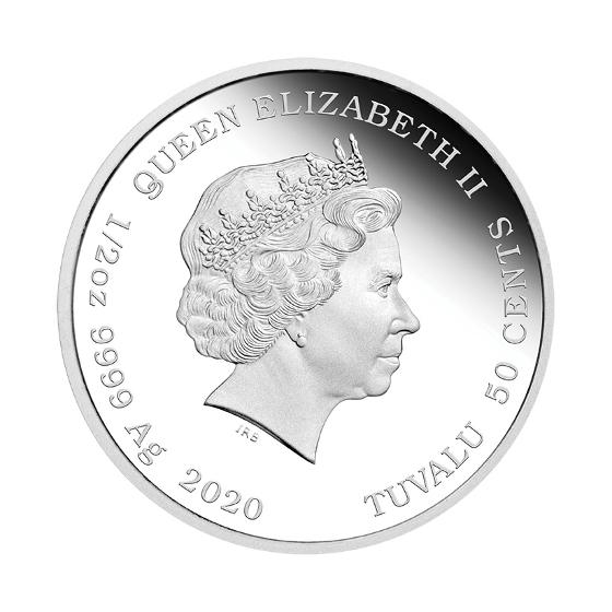 2020 Baby Mouse 1/2oz silver proof coin product photo Internal 4 DETAILS