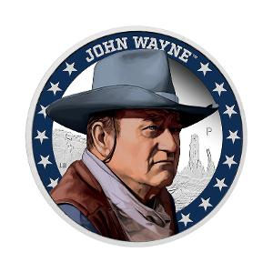 2020 John Wayne 1oz silver proof coin product photo