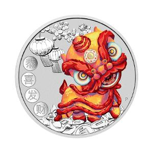 2020 Chinese New Year 1oz silver coin product photo