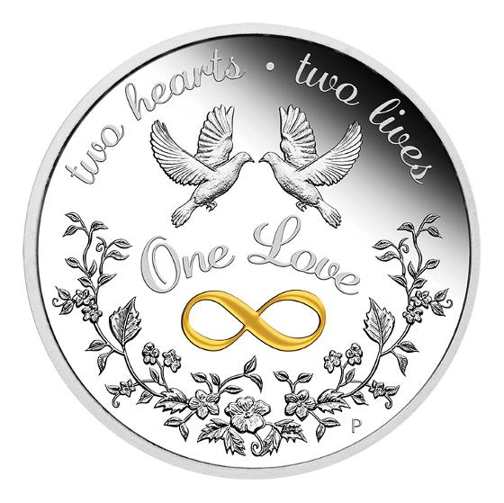 2020 One Love 1oz silver proof coin product photo Internal 1 DETAILS