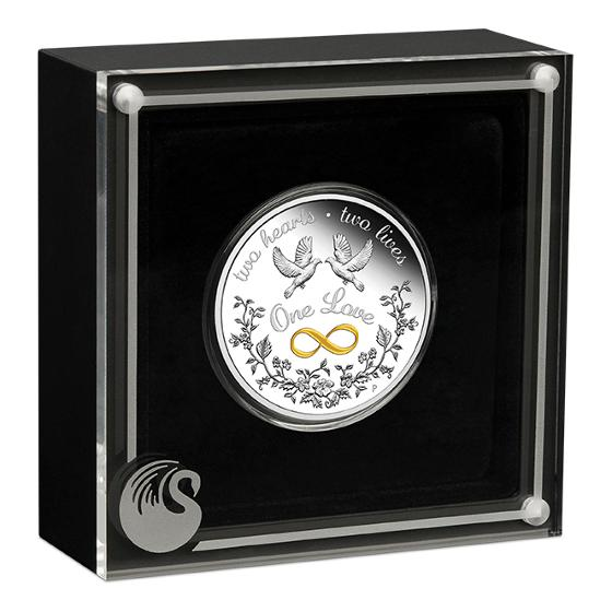 2020 One Love 1oz silver proof coin product photo Internal 2 DETAILS