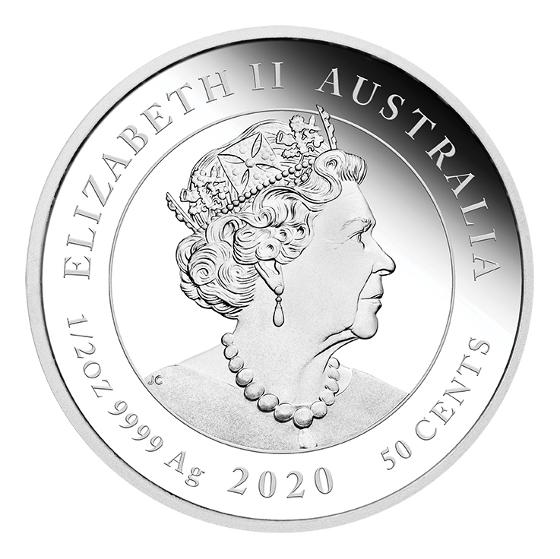 2020 Newborn Stork 1/2oz silver proof coin product photo Internal 3 DETAILS