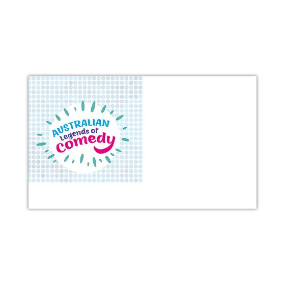 Pictorial envelope for the Australian Legends of Comedy stamp issue product photo Internal 1 DETAILS