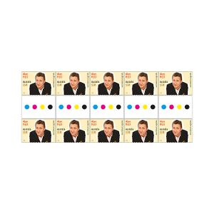 Gutter strip of 10 x $1.10 Adam Hills stamps product photo