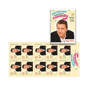 Booklet of 10 x $1.10 Adam Hills stamps product photo