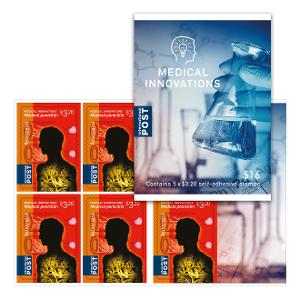 Sheetlet of 5 x $3.20 International Rest of the World rate stamps product photo