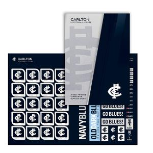 AFL 2020 Carlton Football Club stamp pack product photo