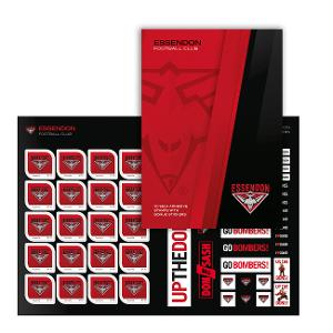AFL 2020 Essendon Football Club stamp pack product photo