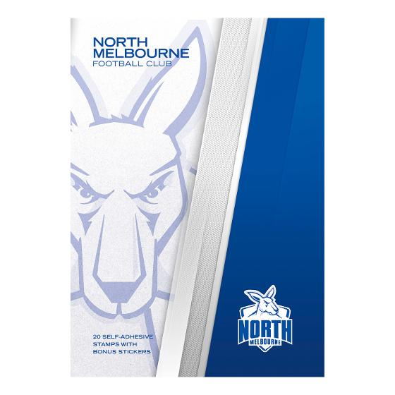 AFL 2020 North Melbourne Football Club stamp pack product photo Internal 4 DETAILS