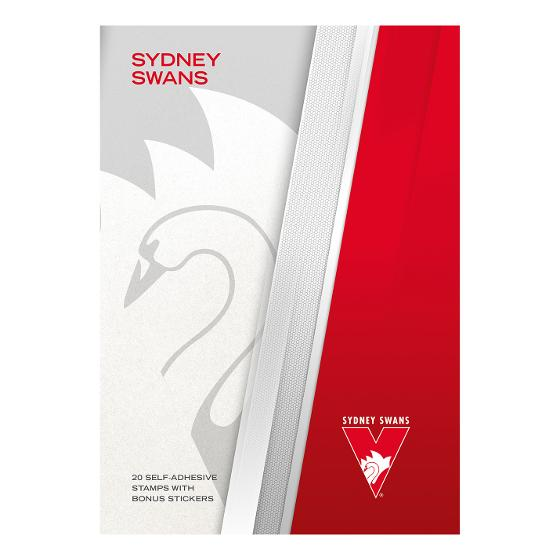 AFL 2020 Sydney Swans stamp pack product photo Internal 4 DETAILS