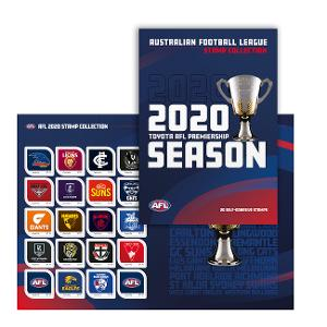 AFL 2020 stamp collection product photo