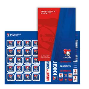 NRL 2020 Newcastle Knights stamp pack product photo
