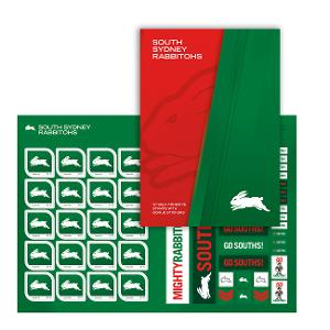 NRL 2020 South Sydney Rabbitohs stamp pack product photo