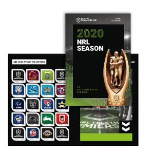 NRL 2020 stamp collection product photo