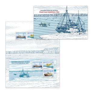 AAT: Wyatt Earp Expedition, 1948 stamp pack product photo
