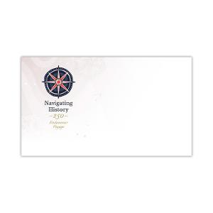 Pictorial envelope for the Navigating History: Endeavour Voyage 250 Years stamp issue product photo