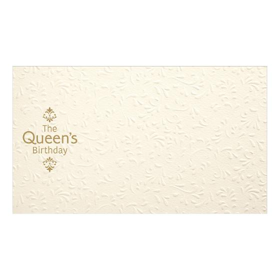 Pictorial envelope for The Queen's Birthday 2020 stamp issue product photo Internal 1 DETAILS