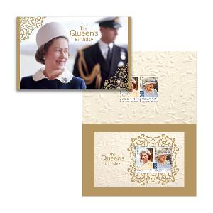 The Queen's Birthday 2020 stamp pack product photo