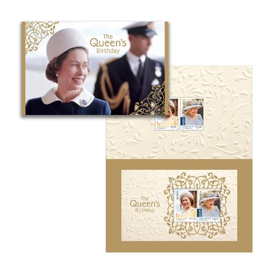 The Queen's Birthday 2020 stamp pack product photo Internal 1 DETAILS