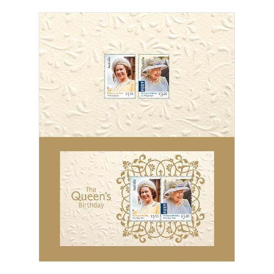 The Queen's Birthday 2020 stamp pack product photo Internal 2 DETAILS