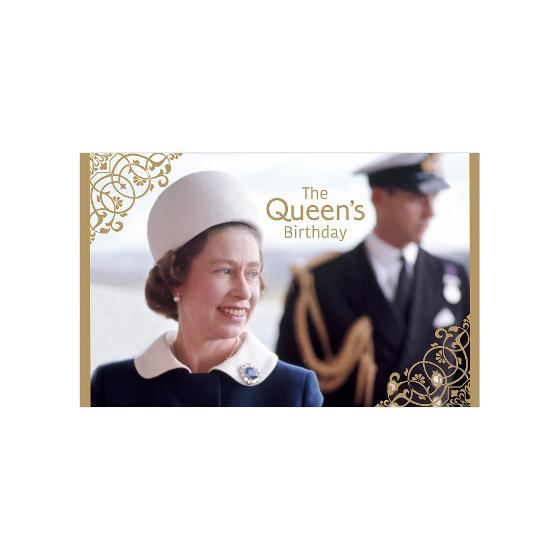 The Queen's Birthday 2020 stamp pack product photo Internal 3 DETAILS