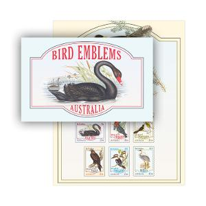 Bird Emblems stamp pack product photo
