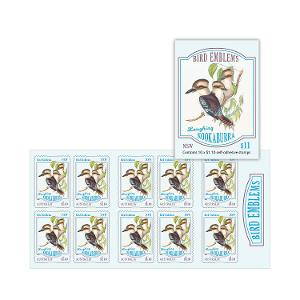 Booklet of 10 x $1.10 Laughing Kookaburra stamps product photo