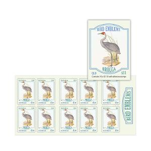 Booklet of 10 x $1.10 Brolga stamps product photo