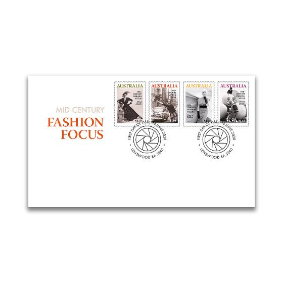 First day Mid-Century Fashion Focus gummed stamps cover product photo Internal 1 DETAILS