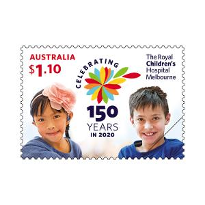 150th Anniversary of The RCH gummed stamp product photo