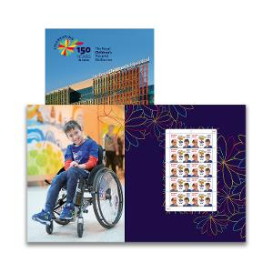 150th Anniversary of The RCH sheetlet pack product photo