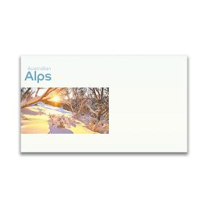 Pictorial envelope for the Australian Alps stamp issue product photo