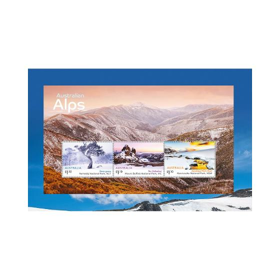 Australian Alps stamp pack product photo Internal 3 DETAILS