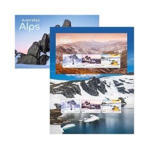 Australian Alps stamp pack product photo