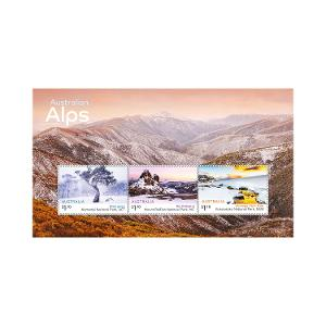 Australian Alps minisheet product photo