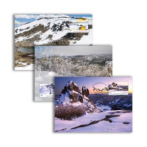 Set of Australian Alps maxicards product photo