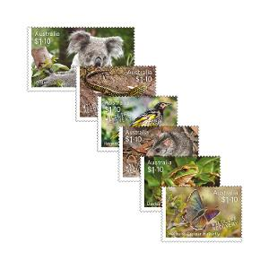 Set of Wildlife Recovery gummed stamps product photo