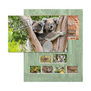Wildlife Recovery stamp pack product photo