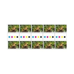 Gutter strip of 10 x $1.10 Davies' Tree Frog stamps product photo