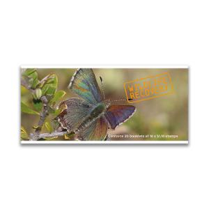 Chequebook of 20 x 10 x $1.10 Bathurst Copper Butterfly stamps product photo
