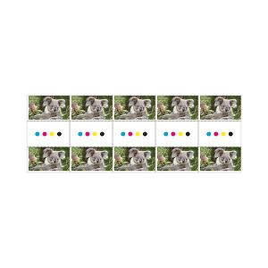 Gutter strip of 10 x $1.10 Koala stamps product photo