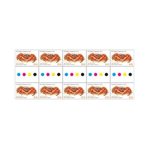Gutter strip of 10 x $2.20 Red Nipper stamps product photo