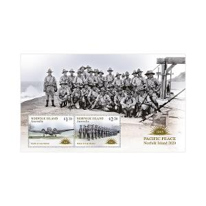 Norfolk Island: Peace in the Pacific minisheet product photo
