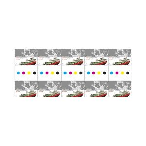 Gutter strip of 10 x $2.20 Southern lights stamps product photo