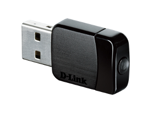 D-Link DWA-171 AC600 MU-MIMO Wi-Fi USB Adapter product photo