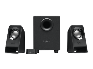 Logitech® Z213 Compact 2.1 Speaker System product photo