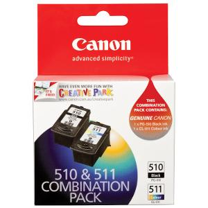 Canon PG-510 Black and CL-511 Colour Combo Pack product photo